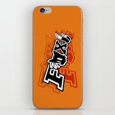 Two-Tailed Fox iPhone Skin