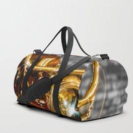 Old Motorcycle Duffle Bag