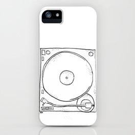 recordplayer iPhone Case