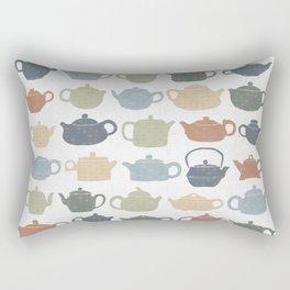 Lots of Tea Pots Rectangular Pillow