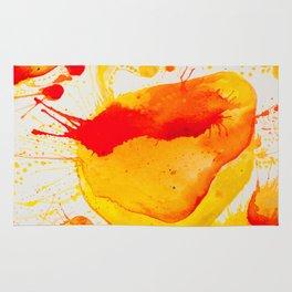 Orange Study Rug