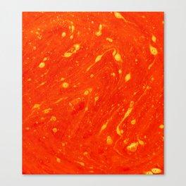 Red Adagio Canvas Print