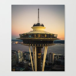 Space Needle (close-up) Canvas Print