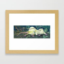 Moonrat Framed Art Print