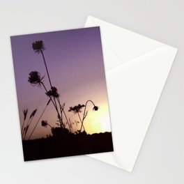 Wildflowers Sunset Stationery Cards