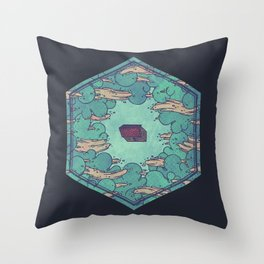 Away from Everything Throw Pillow
