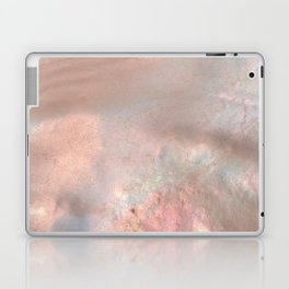 Mother of pearl in rose gold Laptop & iPad Skin