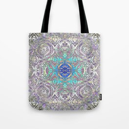 Psychedelic Ironwork Tote Bag