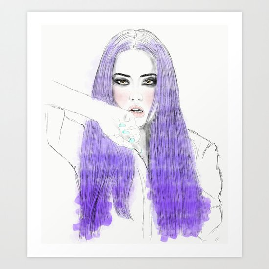 Go Ara Art Print
