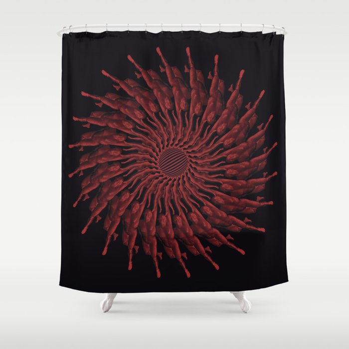 Atlas Shower Curtain By R2on