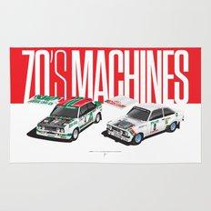 70's Machines Rug