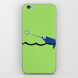 Water Polo Narwhal iPhone Skin