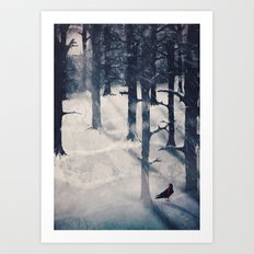 the raven who stole my heart Art Print