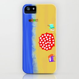 Bliss on the Beach! iPhone Case