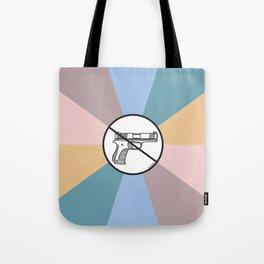 No Guns 2 Tote Bag