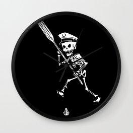 Miss Peregrine skeleton 3 Wall Clock