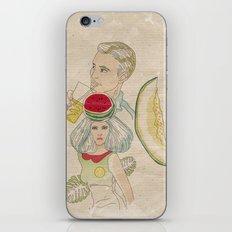 melon, watermelon and lemon iPhone & iPod Skin