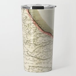 Map Of Barbados 1817 Travel Mug
