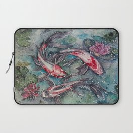 Harmony (Watercolor Painting) Laptop Sleeve