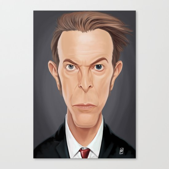 Celebrity Sunday - David (David Robert Jones) Bowie Canvas Print