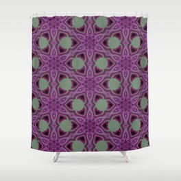Blueberry blossom 2 Shower Curtain