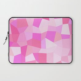 Bright Pink Mosaic Laptop Sleeve