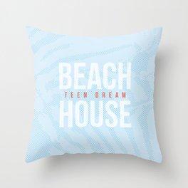 Teen Dream - Beach House Throw Pillow