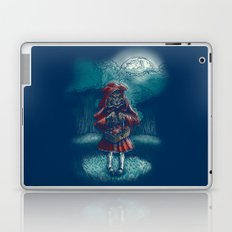 Big Bad Little Red Riding Wolf Hood Laptop & iPad Skin