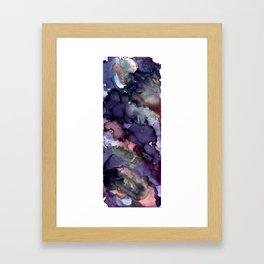Smoked Framed Art Print