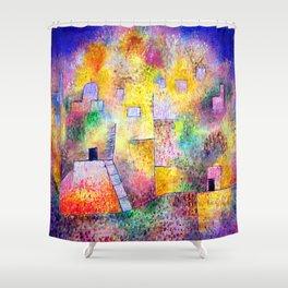 Paul Klee Oriental Pleasure Garden Shower Curtain