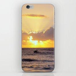 Golden Lining iPhone Skin