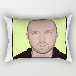 JESSE PINKMAN by Zina Korotkova. Rectangular Pillow