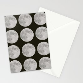 Moons of the Earth Stationery Cards