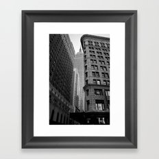 New York Building-1 Framed Art Print