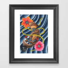 Don't Weasel Around Framed Art Print