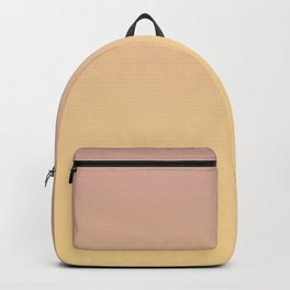 GRADUAL PATHS - Minimal Plain Soft Mood Color Blend Prints Backpack