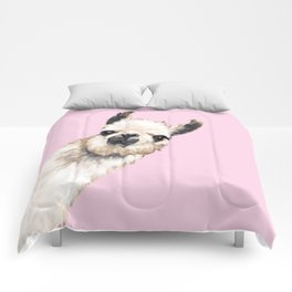 Sneaky Llama Comforters