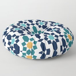 Moroccan style pattern Floor Pillow