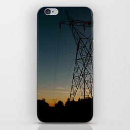 Industrial Sunset iPhone Skin