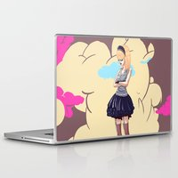 comic Laptop & iPad Skins featuring Comic by monoguru