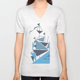 Simplified Unisex V-Neck