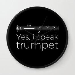 Yes, I speak trumpet (rests) Wall Clock
