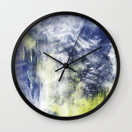 ABSTRACT ART Dream of Paint No. 008 Wall Clock