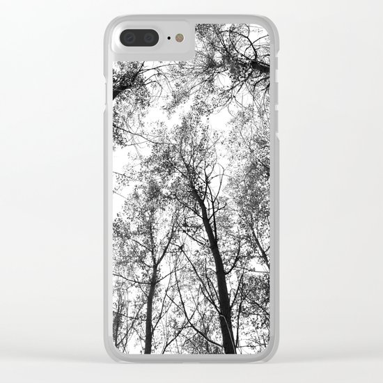 """Up in the air"" Clear iPhone Case"