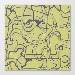 Surreal pattern ii Canvas Print