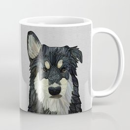 Bjorn - Malamute Samoyed Husky Mix Coffee Mug