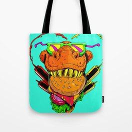 Food Face Tote Bag