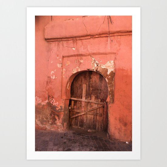 Morocco Doors II Art Print