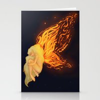 firefly Stationery Cards featuring Firefly by Cim Quinlan