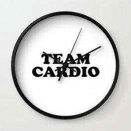 Team Cardio Wall Clock